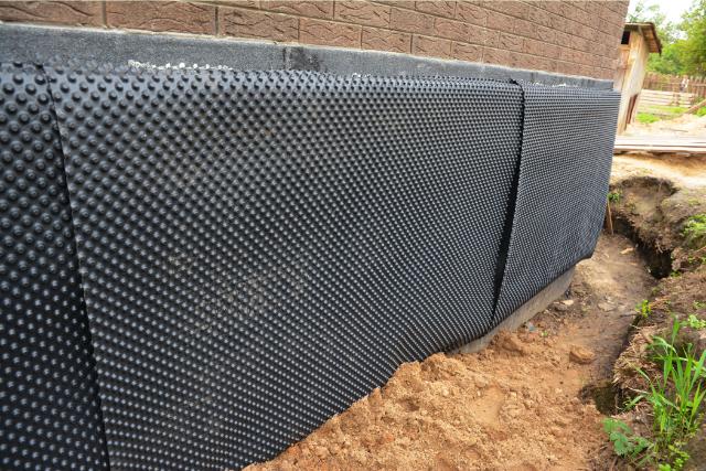 Hillsboro Installation of waterproofing dimpled membrane